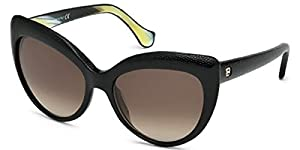 Balenciaga BA 58 BA0058 05K black/other / gradient roviex sunglasses