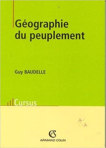 Livres gratuits Géographie du peuplement pdf epub
