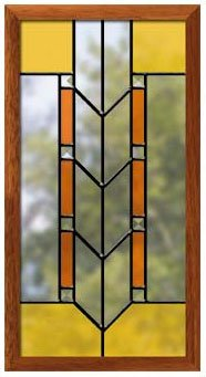 Frank Lloyd Wright Stained Glass Patterns.Prairie Style Panels