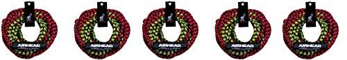 Airhead 2 Rider Tube Rope, 2 Sections with Float (5-(Pack)) by Airhead