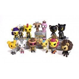 - Tokidoki Royal Pride Vinyl Trading Figure (One Random Blind-box)