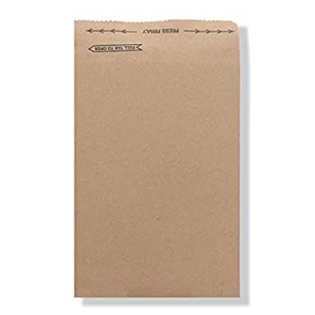 Image of Envelope Mailers Jiffy Rigi Bag Mailer 66253#1, 7-1/8' x 10-3/8', Natural Kraft (Pack of 250)