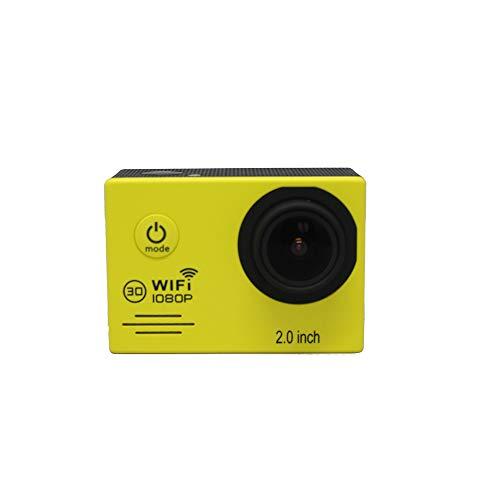 TOPmountain 4K 1080P Cámara De Acción WiFi Cámara Digital A Prueba De Agua, 2.0 LCD Cámara De Video WiFi 1200 Millones De...
