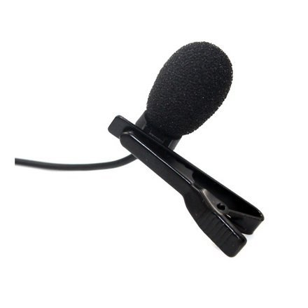 Pro Lavalier Lapel Microphone LM1-C5L For Lectrosonics Wireless Transmitter with TA5F - Unidirectional Condenser Mic