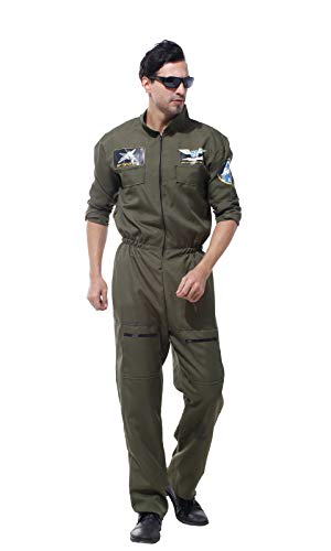 CBM Halloween Costumes for Men Airforce Spaceman Adult