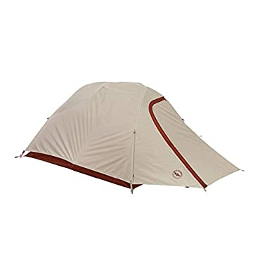 Big Agnes C Bar 3 3 Person Backpacking Tent-Red-3 Person (TCB318)