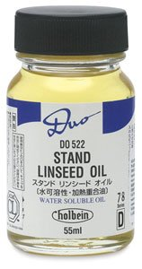 Holbein Duo Aqua Stand Linseed Oil 55 ml