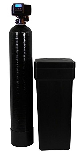 (ABCwaters 64k-56sxt-10bb 10% water softener, 64k grain capacity, Black)