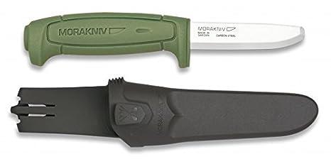 Cuchillo Morakniv Safe con mango de plástico y Hoja de acero ...