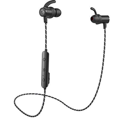 Wireless Headphones,GEVO Bluetooth Sports Earphones Secure F