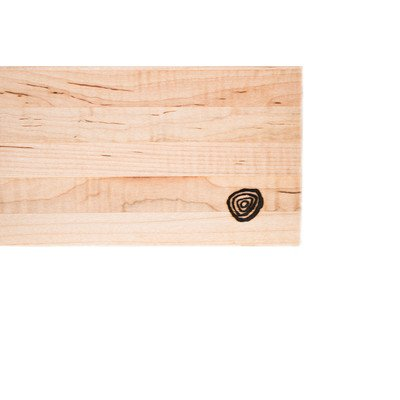 Burl & Blade Curly Maple Cutting Board Butcher Block - 16'' x 24'' Professional Grade Wooding Serving Board and Chopping Board – Handmade in the USA