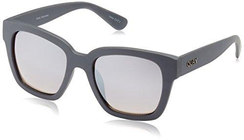 QUAY AUSTRALIA Unisex Neerim Grey/Silver - In Made Australia Sunglasses