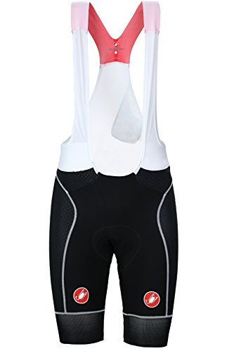 Free Bib Short - Castelli Free Aero Race Bib Short - Men's Black/White, XL