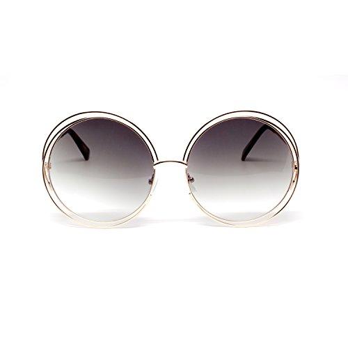 MLC Eyewear Retro Vintage Round Sunglasses UV400
