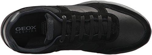 Geox 022ME Sneakers Schwarz U740HA Uomo r1rn8q