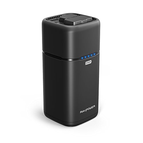 Portable Charger 20100 RAVPower 20100mAh 65W with 2-Prong AC