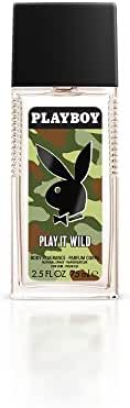 Playboy Male Play It Wild Cologne Spray for Him, 2.5 Fluid Ounce