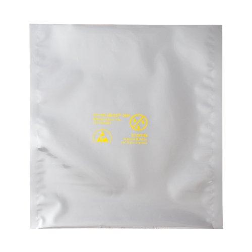 "3M EMD 00051111778319 Dri-Shield 2000 Moisture Barrier Bag, 3.6 mil, 10"" x 20"" (Pack of 100)"