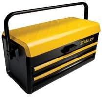 """STANLEY STST1-75510 - Caja metalica para herramientas, 2 cajones, 19""""/48cm: Amazon.es: Bricolaje y herramientas"""