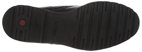 Kickers Lachly, Botines Mujer Negro