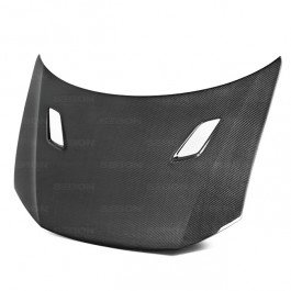 - Seibon MG-Style Carbon Fiber Hood for 2012-2013 Honda Civic 2DR