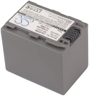 P//N NP-FP90 DCR-DVD205E Battery DCR-DVD105E DCR-DVD205 DCR-DVD203 NP-FP91 2100mAh Replacement for Sony DCR-DVD105