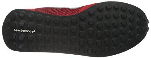 New Balance U410 Clásico - Zapatillas de deporte para adultos unisex Rojo (Red/Grey)