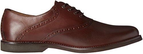 Gh Bas & Co. Mens Parker Oxford Shoe Dark Tan