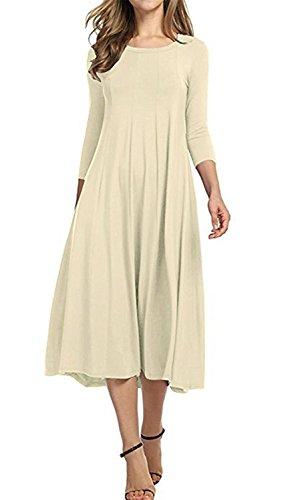 3/4 length sleeve dress canada - 7