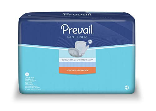 - Prevail Pant Liner, Large Plus 28 Inch Length, Heavy Absorbency, PL-113/1 - Case of 96