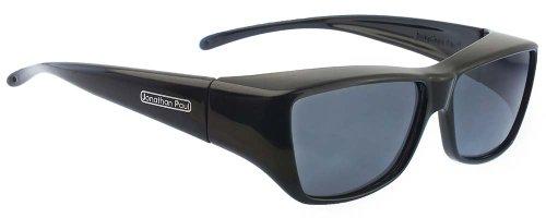 Jonathan Paul Fitovers Neera Large Polarized Over Sunglasses ; Midnite-Oil & Polarvue - Eyewear Fitovers Paul Jonathan