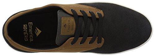 Emerica Men's The Romero Laced Skate Shoe, Grey Heather, D(M) US Grey/Tan