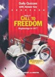 Call to Freedom, Holt, Rinehart and Winston Staff, 0030652316