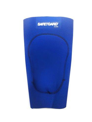 SafeTGard Adult Neoprene Wrestling Knee Support (Royal, XX-Large)
