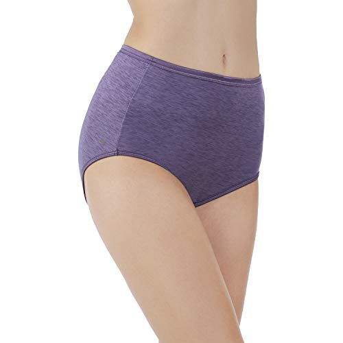 Vanity Fair Women's Illumination Brief 13109, New Blue, (Illumination Full Brief Panties)
