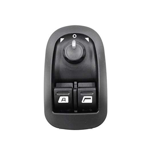F/ür Citroen Und Komplett F/ür FIAT Durable Black Farbe HoganeyVan F/ür Elevaluna Button F/ür Peugeot 206//207//306