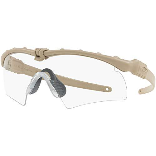 Oakley Men's Si Ballistic M Frame 3.0 0OO9146 Polarized Rectangular Sunglasses, Desert Tan, 32 mm (Oakley Si Ballistic M Frame 2-0 Vs 3-0)
