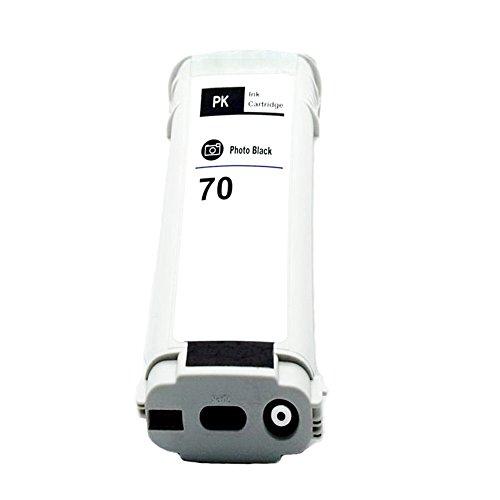 Komada Compatible Photo Black Ink Cartridge For HP70 fit for HP Z2100 Z3100 Z3200 Z5200 5400 70 130ml Photo Black Ink