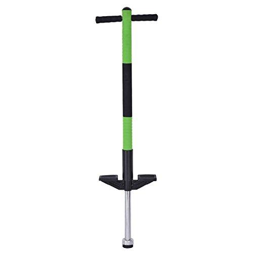 COSTWAY Children Balance Training Single Jump Pogo Stick - Green SpiritOne by COSTWAY
