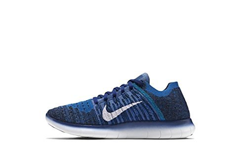 9174069b1808e5 Galleon - NIKE Kids Free RN Flyknit GS Running Shoes (5.5y