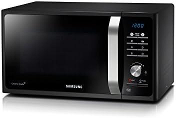 Samsung MS23F301TAK Encimera 23L 800W Negro - Microondas (Encimera, 23 L, 800 W, Botones, Giratorio, Negro, Retirable): Amazon.es: Hogar