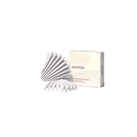 4-7 Micron 90mm Diameter Pack of 100 Grade 591-1//2 Whatman 10311642 Quantitative Folded Filter Paper