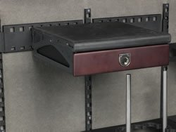 Browning Axis Drawer Bridge - 154106 - Moves The Drawer Over If It Is On The Hinge Side Of The Safe Allowing Easy Access To Contents - Awesome Way To Customize Interior Of Your Safe (Silver Medallion Hinges)