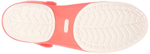 Crocs Carlie Cutout W - Sandalias de sintético mujer Rosso (Coral/Oyster)