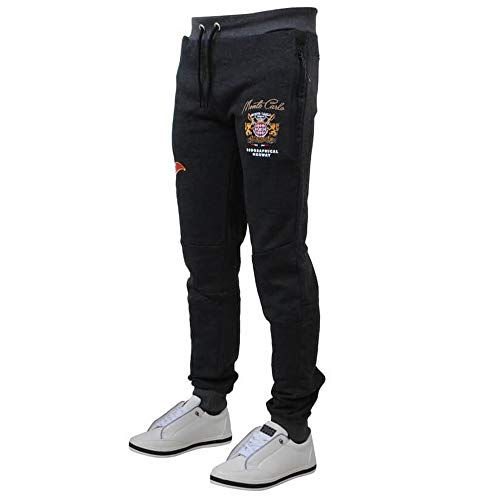 Survêtement Noir Carlo Slim De Norway Monte Mapardo Sweat Coupe Pantalon Geographical qv6Fwtgx