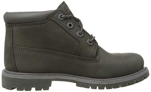 Femme Chukka Bottes Gris medium Timberland P01 Grey Double Nubuck Nellie PqI6a6