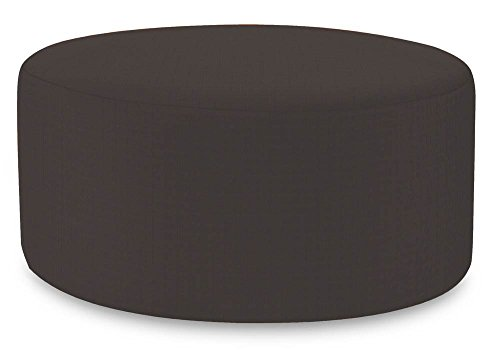 Howard Elliott QC132-460 Universal Patio Round Ottoman Cover, 36-Inch, Seascape - Cover Ottoman 36