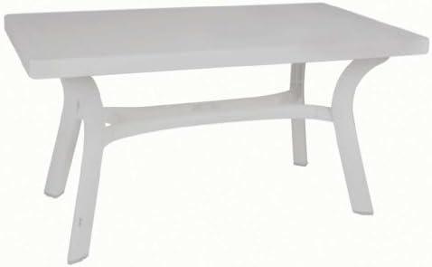 Mesa flavia blanca 140x80 cm: Amazon.es: Bricolaje y herramientas