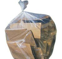 26 Gallon Trash Bags (Clear Trash Bags 25-30 Gallons, 30x36, 100/Case 1.5 Mil by Plastic Place)