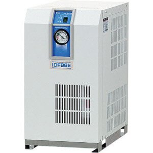 SMC IDFB22E-23-X184 - Refrigerated Air Dryer - Dew Point: 50 °F, Max Operating Pressure: 100 psi, Voltage: 230 V ac